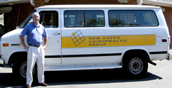 new haven chiropractic free van service